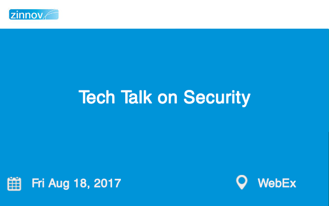Tech Talk on Security