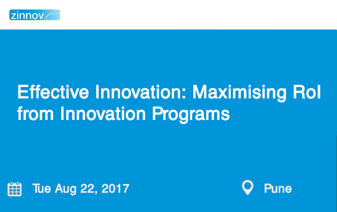 Effective Innovation: Maximising RoI from Innovation Programs