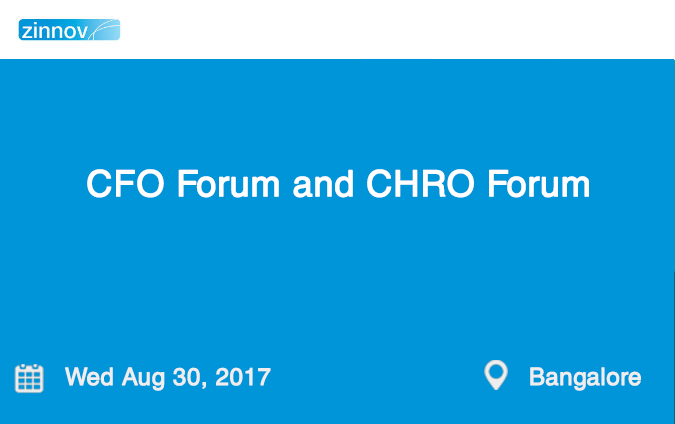 CFO Forum and CHRO Forum