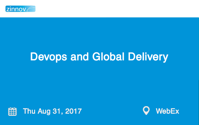 Devops and Global Delivery