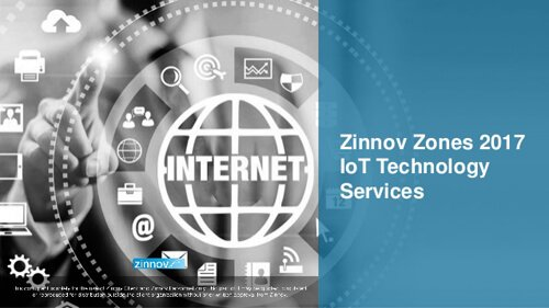 Zinnov Zones 2017 for IoT Technology Services