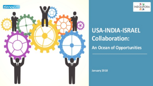 USA-India-Israel Collaboration Report 2018