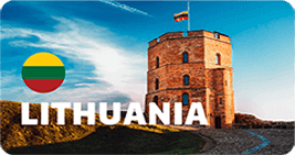 Center Of Excellence Hotspots - Lithuania