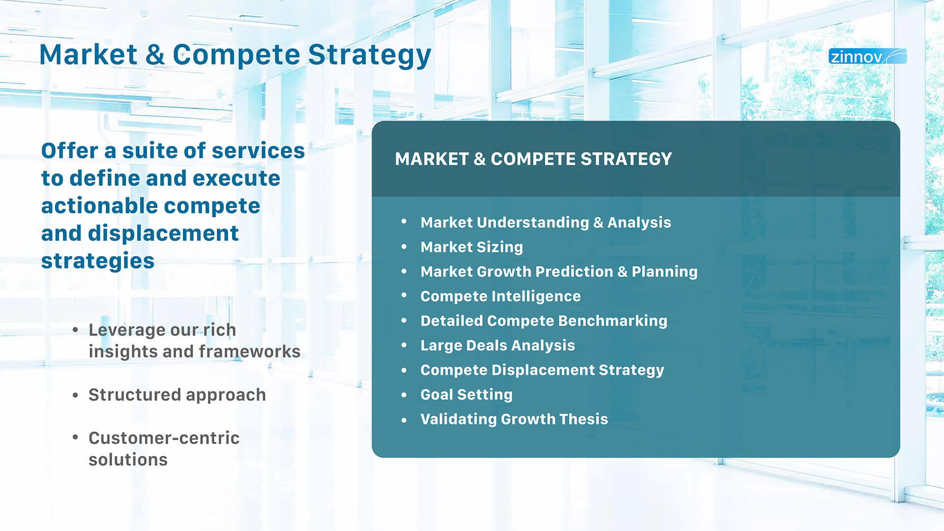 Market & Compete Strategy