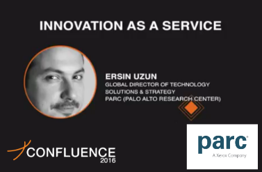 Ersin Uzun Global Director Of PARC speaks at Zinnov Confluence, Santa Clara