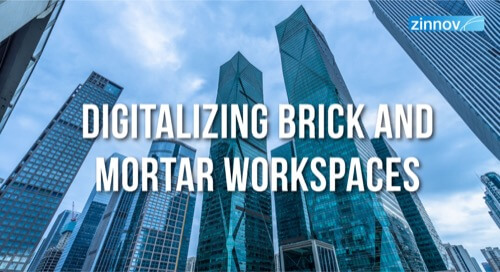 Digitalizing Brick and Mortar Workspaces