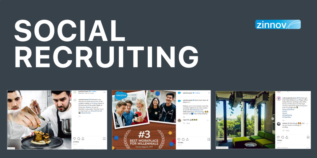 Social Media Recruiting Through Instagram