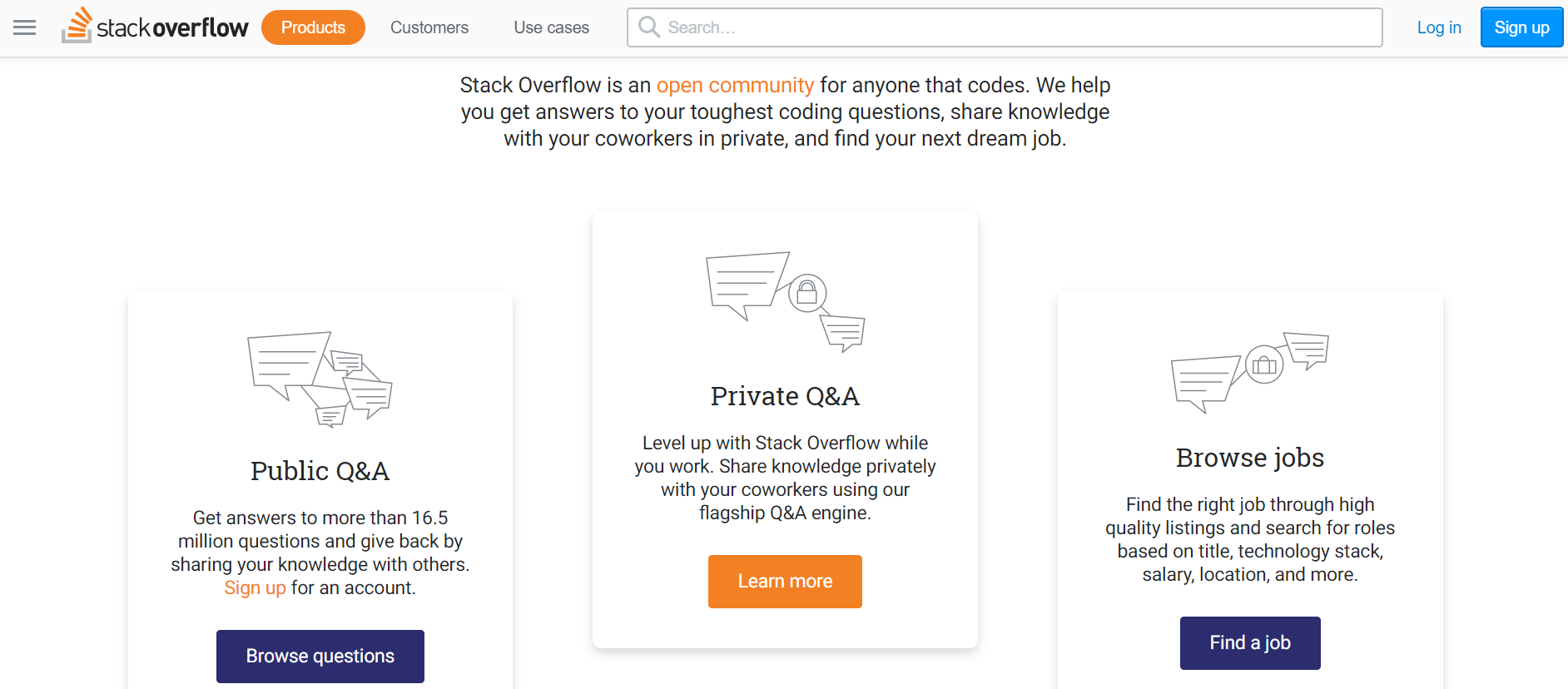 Stack Overflow - Social Media Recruiting