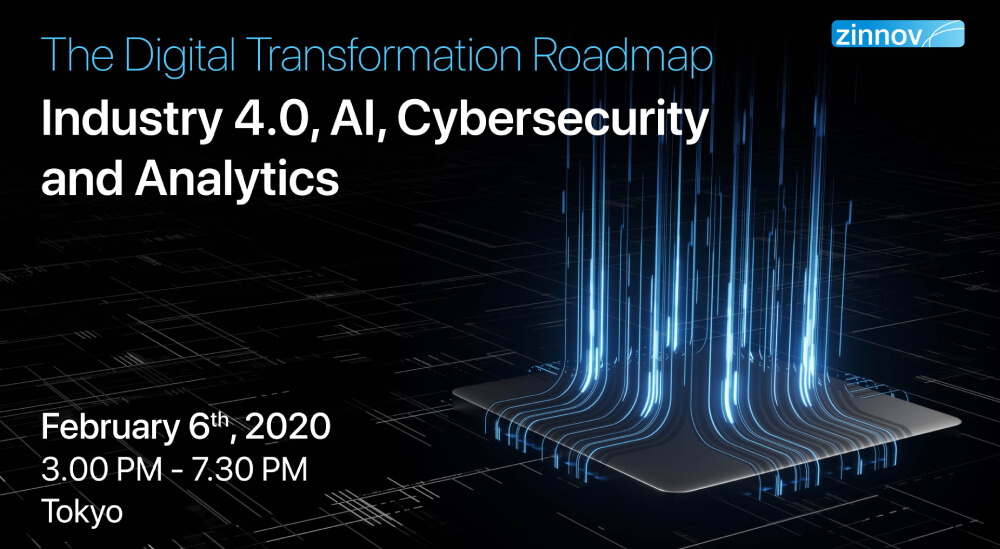 The Digital Transformation Roadmap: Industry 4.0, AI, Cybersecurity and Analytics