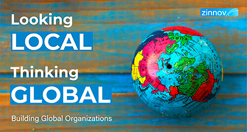 Building Synthesized Global Organizations