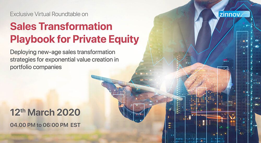 Virtual Roundtable – Sales transformation playbook for Private Equity