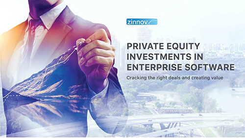 Private Equity Investments in Enterprise Software - Zinnov Report '20