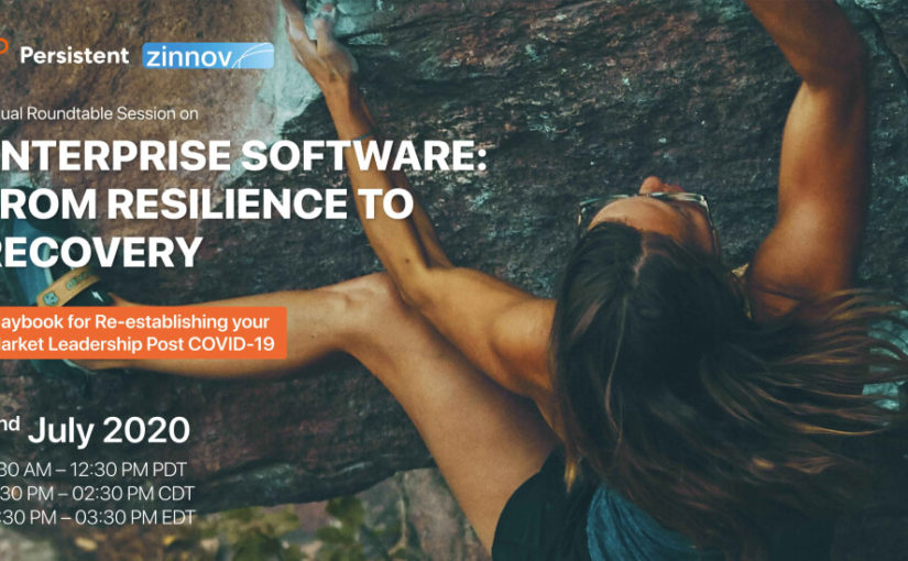 Enterprise Software: From Resilience to Recovery | Playbook for Re-establishing your Market Leadership Post COVID-19