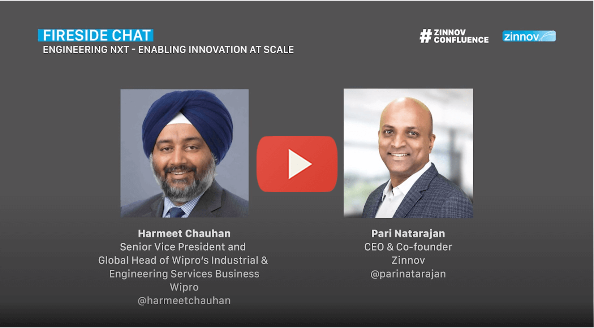 Fireside Chat | EngineeringNXT - Enabling Innovation At Scale | Zinnov Confluence