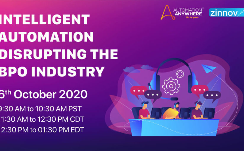 Intelligent Automation Disrupting the BPO Industry