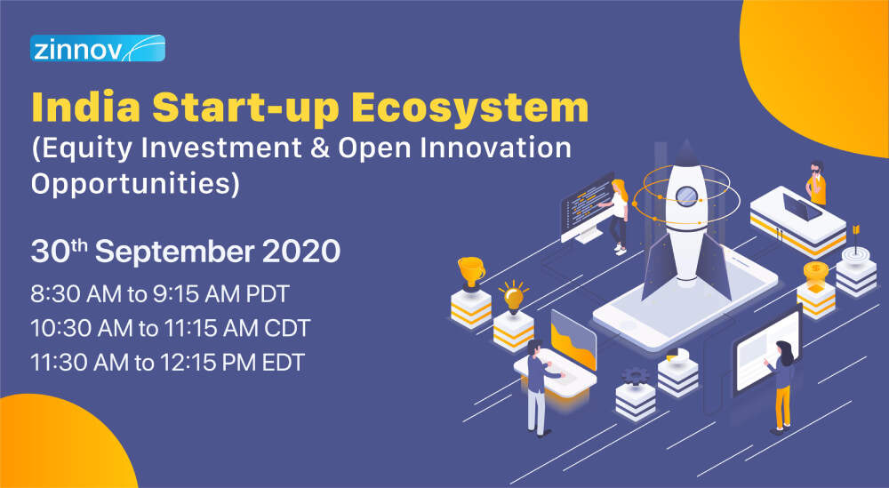 India Start-up Ecosystem: Equity Investment & Open Innovation Opportunities