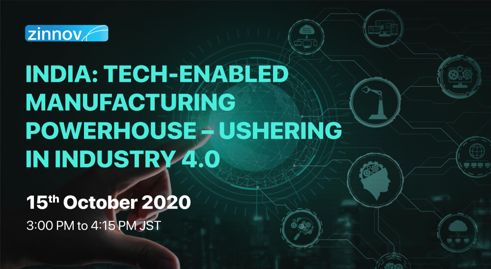 India: Tech-enabled Manufacturing Powerhouse – Ushering in Industry 4.0