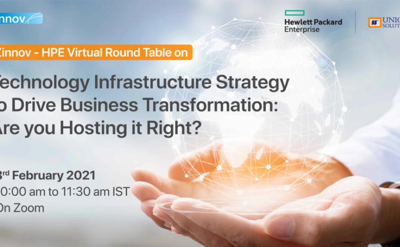 Technology Infrastructure Strategy to Drive Business Transformation: Are you Hosting it Right?