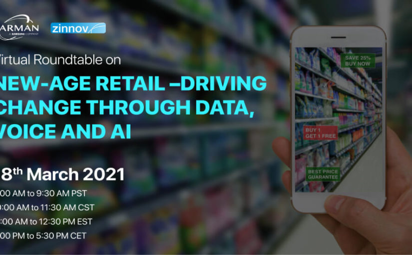 New-Age Retail – Driving change through Data, Voice and AI