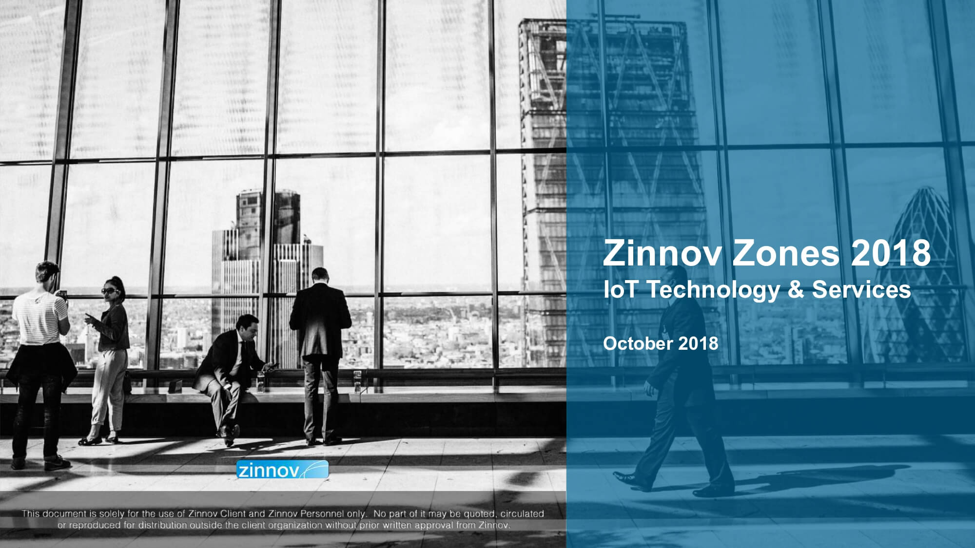 Zinnov Zones 2018 for IoT Technology Services